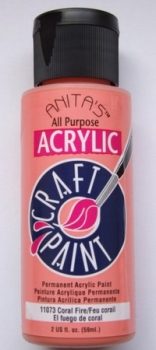 Anita´s Acrylic Craft Paint - Coral Fire