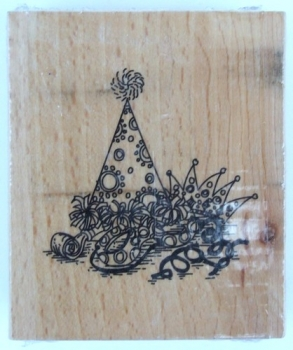 "Holzstempel ""Clowns Art."""