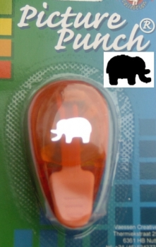 "Picture Punch Motivlocher ""klein"" - Elefant"