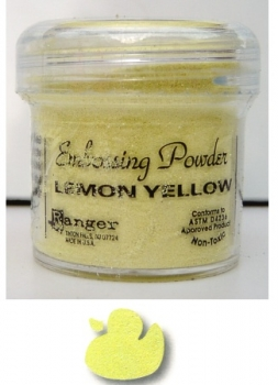 Ranger Embossing Pulver - lemon yellow