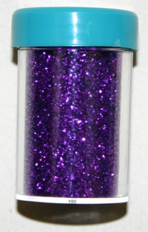 Glitter fein in Streudose - Purple