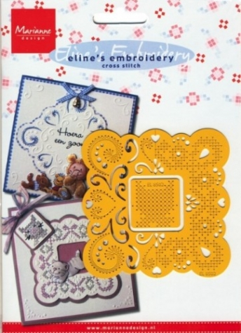 Schablone Eline's Embroidery cross stitch EL8502