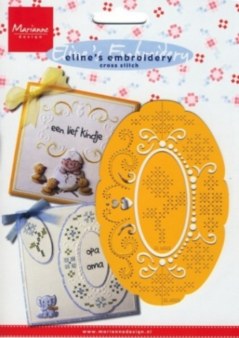 Schablone Eline's Embroidery cross stitch EL8503