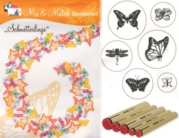 Stempel - Set Schmetterlinge
