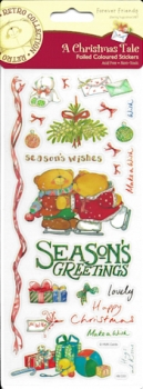 "DC Foliensticker 'Forever Friends' - A Christmas Tale - "" Season's Greetings"""