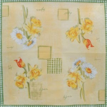Serviette Spring Bouquet