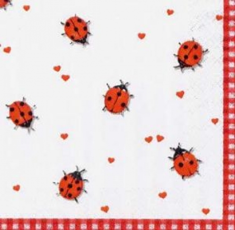Servietten Ladybirds