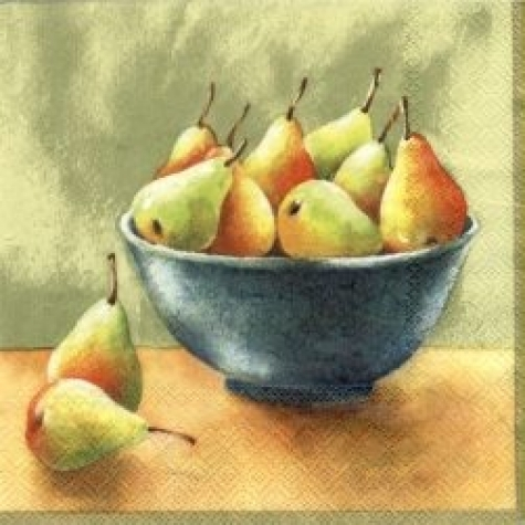 Servietten Pears nature