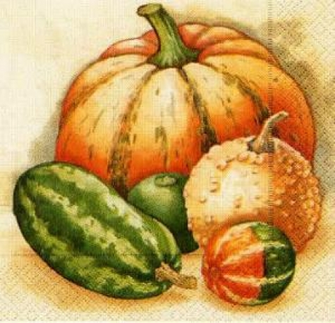 Servietten Pumpkin