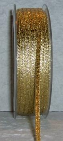 Band - gold-hologramm  <br> 3 mm - 1 Meter