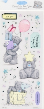 "DC Foliensticker 'Me To You' - Especially For You - ""Birthday Wishes"""
