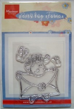 Clear Stamp - Party Fun - Schaf mit Brief