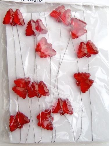 Bastelstube michaelis drahtkette mit 24 schmetterlingen for Restposten dekoartikel