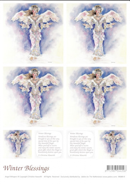 3D-Bogen - Angel Whispers - Winter Blessings