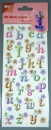 3D Multi-Layer Sticker  <br> 6013-0252 - Alphabet Nr.2