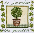 Serviette The Garden