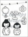 Clear Stamp - Eline's Folklore - Orient
